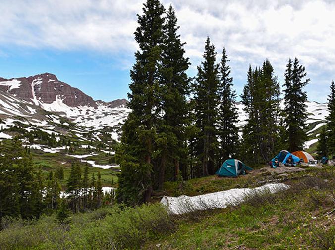 Conundrum Hot Springs Campground, Colorado