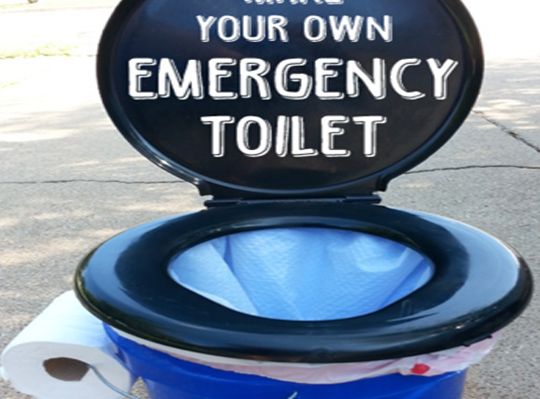 Emergency Toilet Perfect for Campers