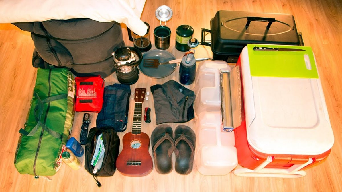 camping bring gear basic carry checklist need camper wonderful
